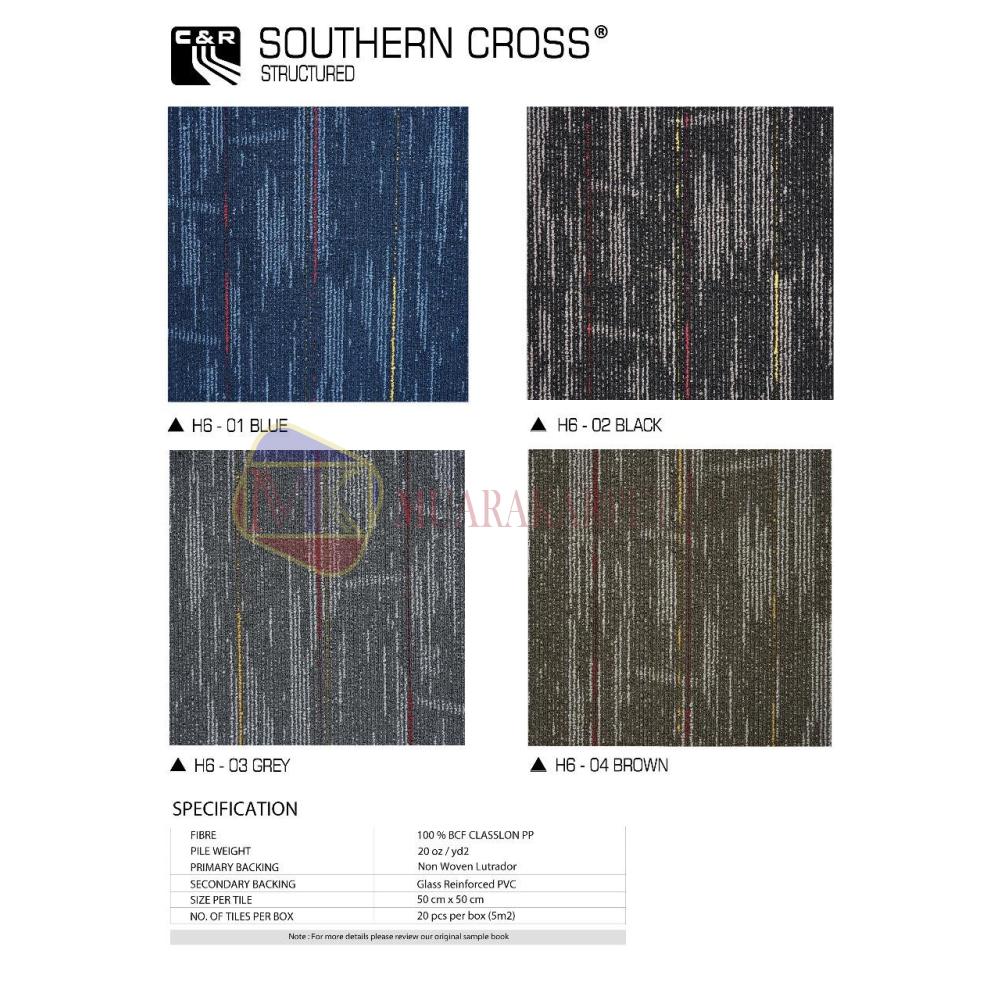 Karpet Tile Southern Cross